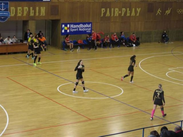 HC Dunarea Braila invinge Magura Cisnadie si termina pe locul 2 turul Ligii Nationale