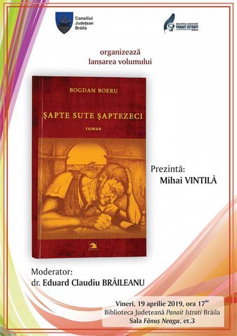 Lansare de carte la Biblioteca Judeteana