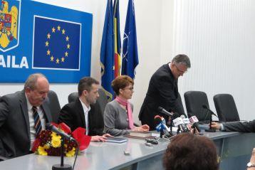 Stancu a boicotat ceremonia de investire a prefectului Brailei