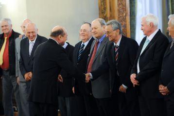 Traian Basescu s-a intalnit cu fostii campioni mondiali la handbal