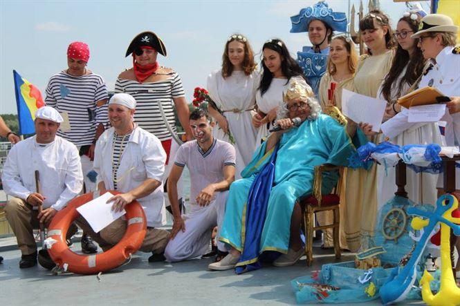 Botezul ghiborțului amuzamentul spectatorilor
