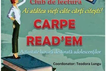 Club de lectura pentru adolescenti