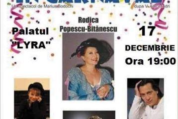 ''Chirița în carnaval'', o comedie cu mari actori ai scenei românești