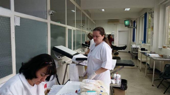 Acțiune de donare de sânge a Protoeriei Însurăței