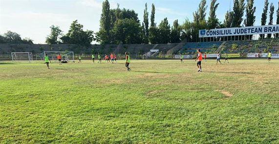 Dacia Unirea Brăila s-a înscris în Liga a 3-a i speră să obțină finanțare de la Consiliul Județean