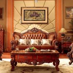 Vintage Leather Sofas For Living Room Furniture From Foshan