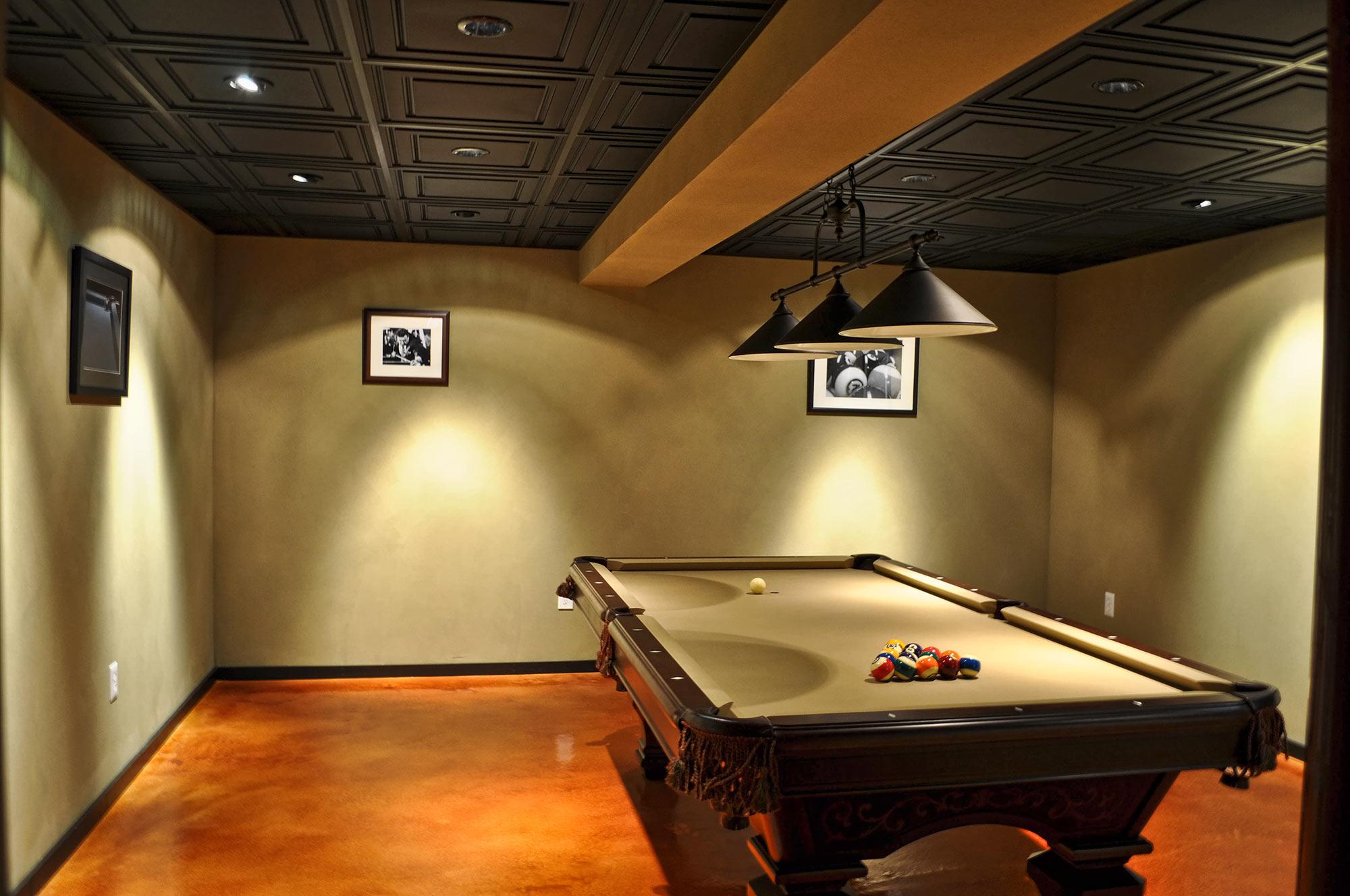 stratford vinyl ceiling tile black
