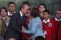 Calderón y Gordillo. Pactos secretos. Foto: Miguel Dimayuga
