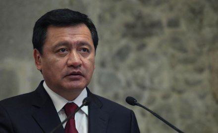El secretario de Gobernación, Miguel Ángel Osorio Chong.  Foto: Benjamin Flores