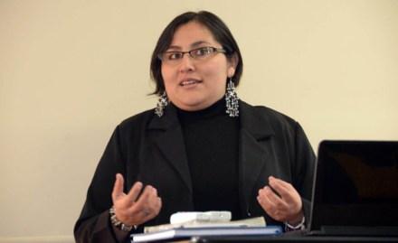 Patricia Torres García, becaria de la UNAM.  Foto: Especial