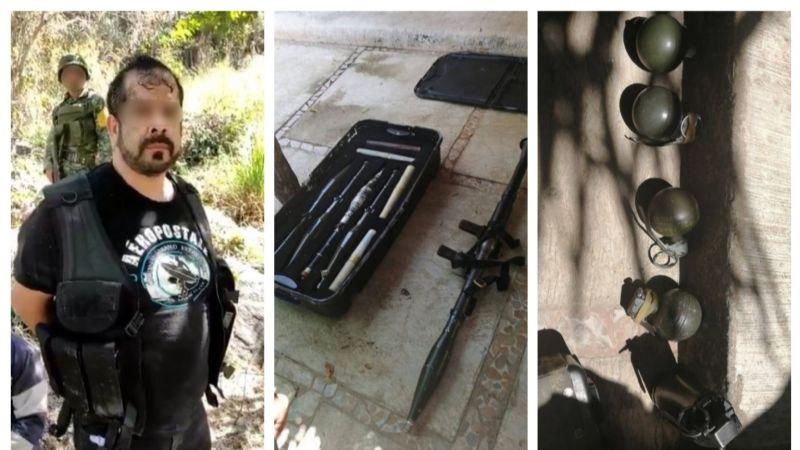 Tres sicarios del CJNG detenidos tras enfrentamiento en Rincón de Guayabitos