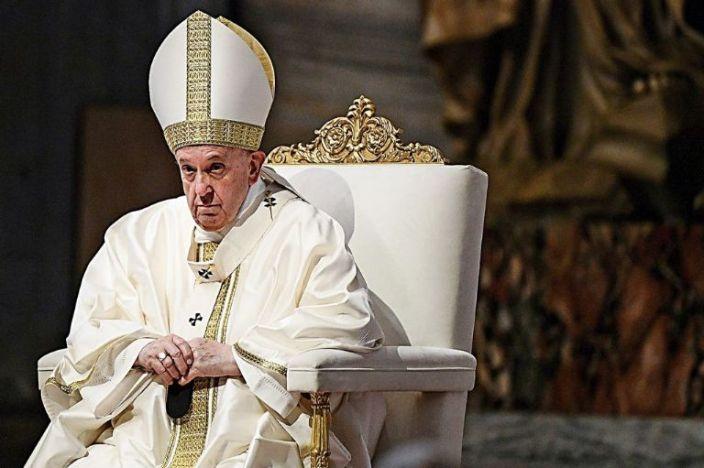 Francisco. La encíclica «Fratelli Tutti». Foto: AP / Filippo Monteforte