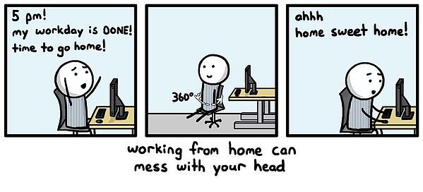 work from home transition