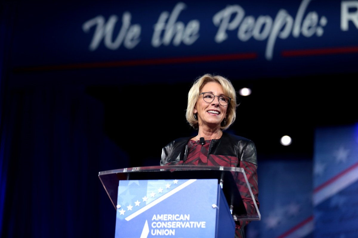 Betsy DeVos and the History of Homeschooling
