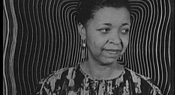 A portrait of Ethel Waters.