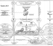 This chart depicts the second coming and subsequent judgment by God.