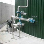 "Landia""s externally mounted GasMix AD digester mixing system"