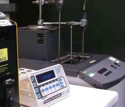 Instalação de calibração de temperatura UKAS