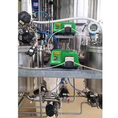 peristaltic pump control