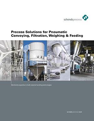 Soluciones neumáticas de transporte, filtración, pesaje y alimentación