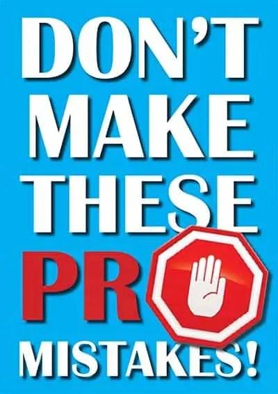 Machen Sie diese PR-Fehler nicht für Trade Media