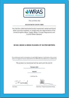 certificado wras