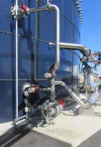 GasMix digester mixing system