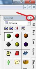 When the Gallery disappears in ProcessModel process improvement software it can be restored from the tools menu.