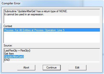 Compiler Error, UpdateAfterGet()