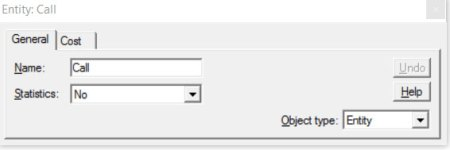 Properties dialog general processmodel software