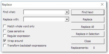 ProcessModel Version 5.6.2 process improvement software reduces editing time with find and replace for action logic