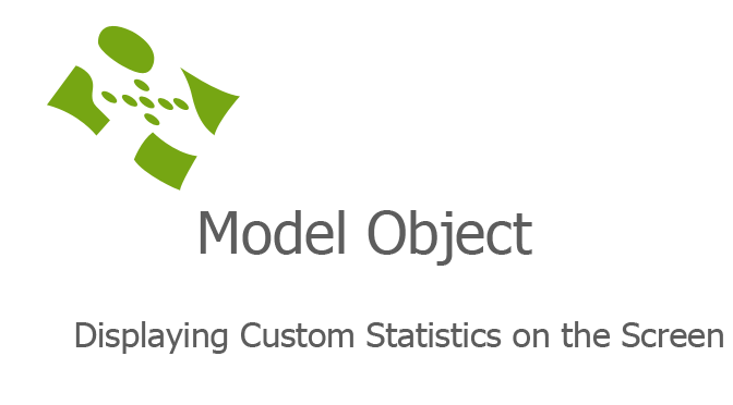 Displaying Custom Statistics on the Screen