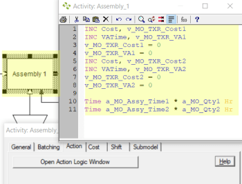 add action logic to assembly station Variable Assembly