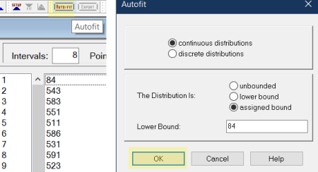auto-fit data in stat-fit