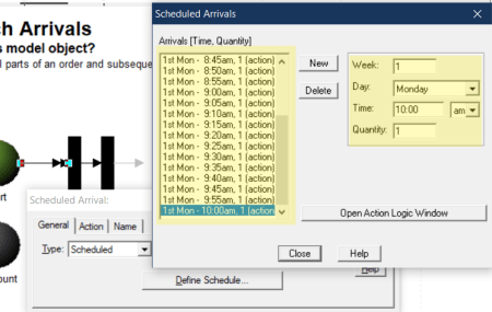 change scheduled arrivals in Creating Batch Arrivals
