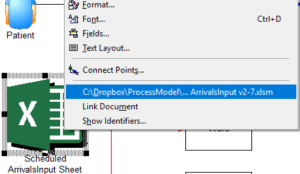 opening Scheduled ArrivalsInput in Import and Overall Flow