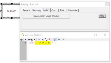attribute as time scheduled arrivals with table input