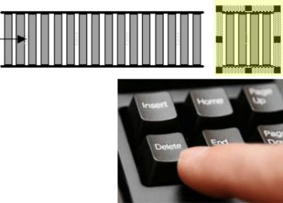deleting conveyor segment