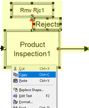copy reject area in High Volume Inspection