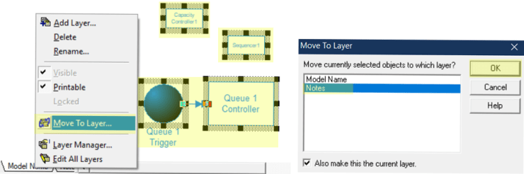 model layers in Pull by Priority