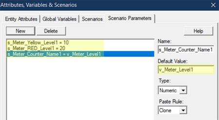 define scenario in Meter1