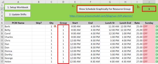 Skills Matrix Optimizer graph 18