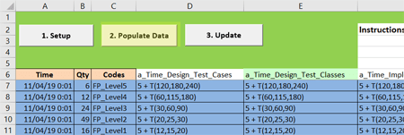 scheduled arrivals populate in Software Testing 1