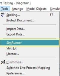 start simrunner in Software Testing