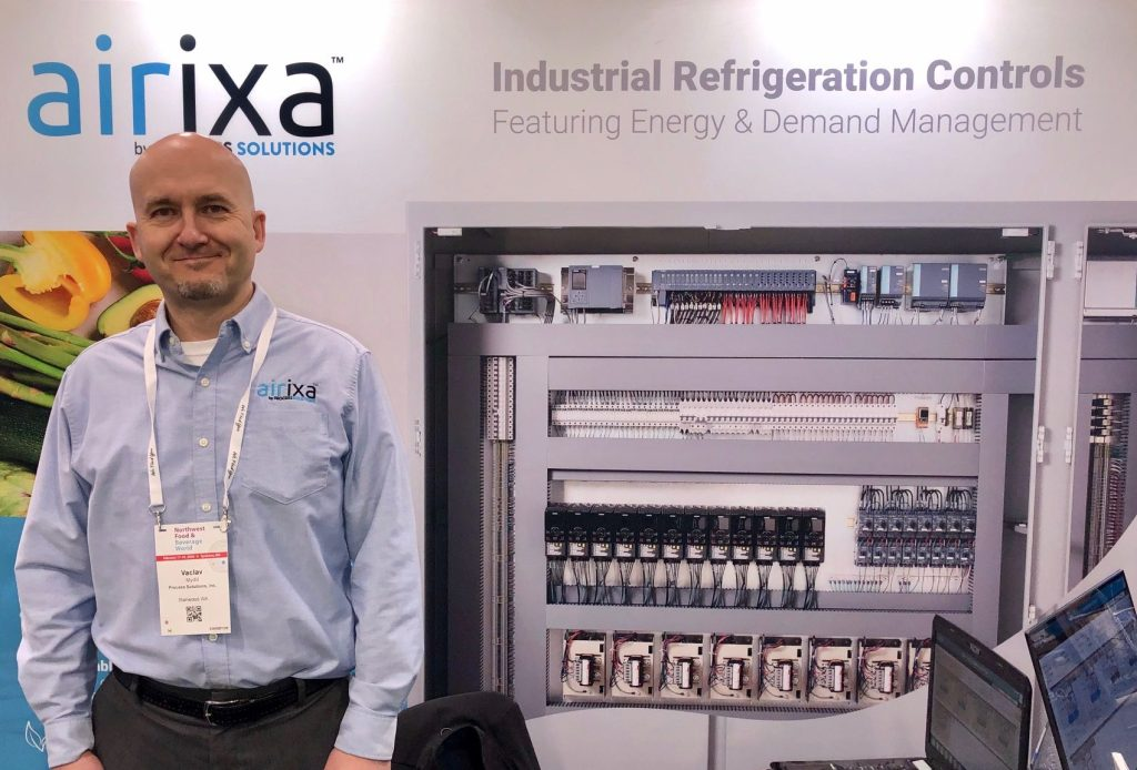 Process Solutions' Director of industrial refrigeration control systems and energy at Northwest food and beverage world