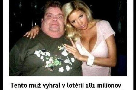 Muž si našel krásnou holku