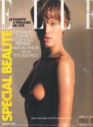 Rok 1990 a obálka Elle.