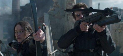 Dvě z hlavních postav Hunger Games v akci