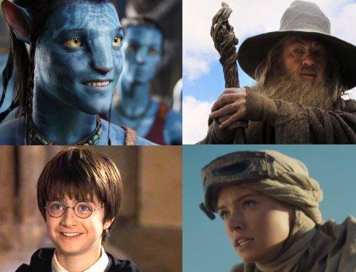 Jake Sully, Gandalf, Harry a Rey