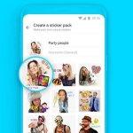 Rakuten Viber představuje zcela novou funkci, které uživatelům umožňuje vytvářet vlastní samolepky přímo v aplikaci